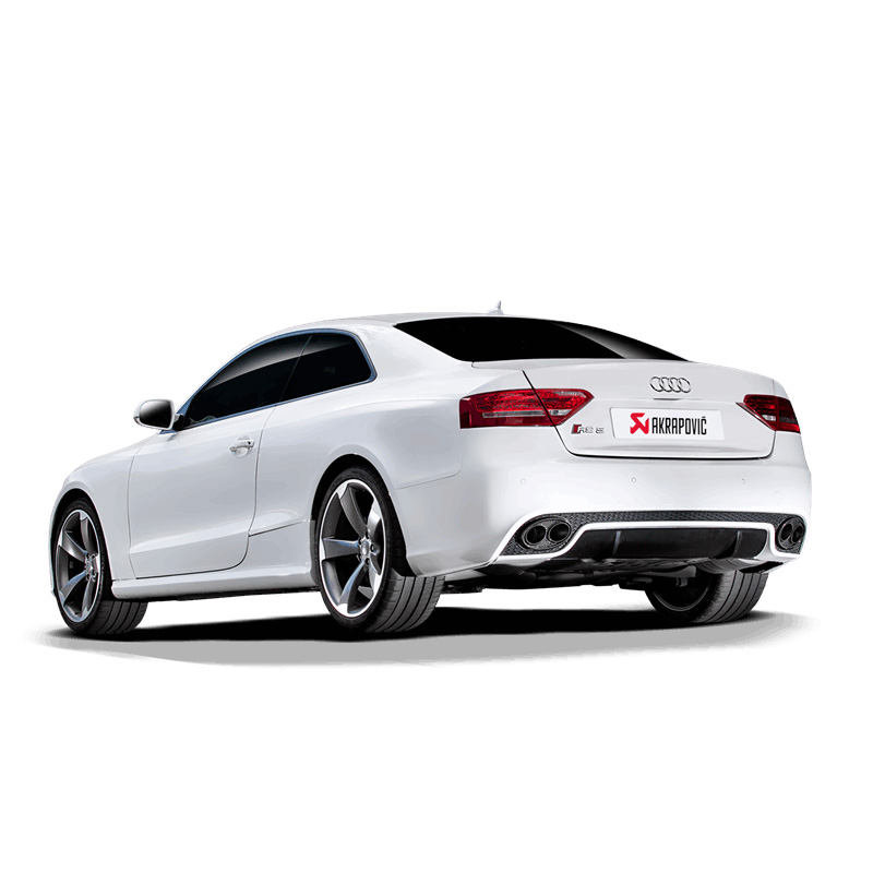 Tuned Audi Rs5: Audi RS5 (B8) Akrapovic Evolution Exhaust