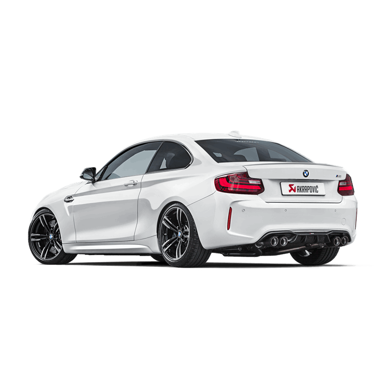 akrapovic stainless steel downpipe with cat bmw m2 clp. Black Bedroom Furniture Sets. Home Design Ideas