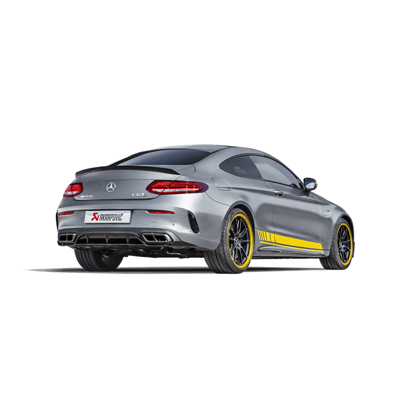 Akrapovic Evolution Exhaust System - Mercedes-Benz C63 AMG Coupe (C205)