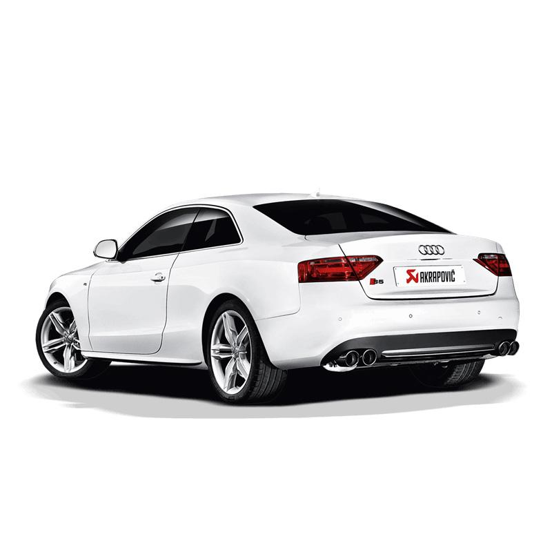 Audi S5 8T Akrapovic Slip-on