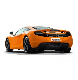 Akrapovic Slip On Exhaust - McLaren MP4 C12