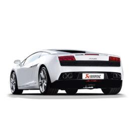 Akrapovic Slip On Exhaust - Lamborghini Gallardo 550/560/570