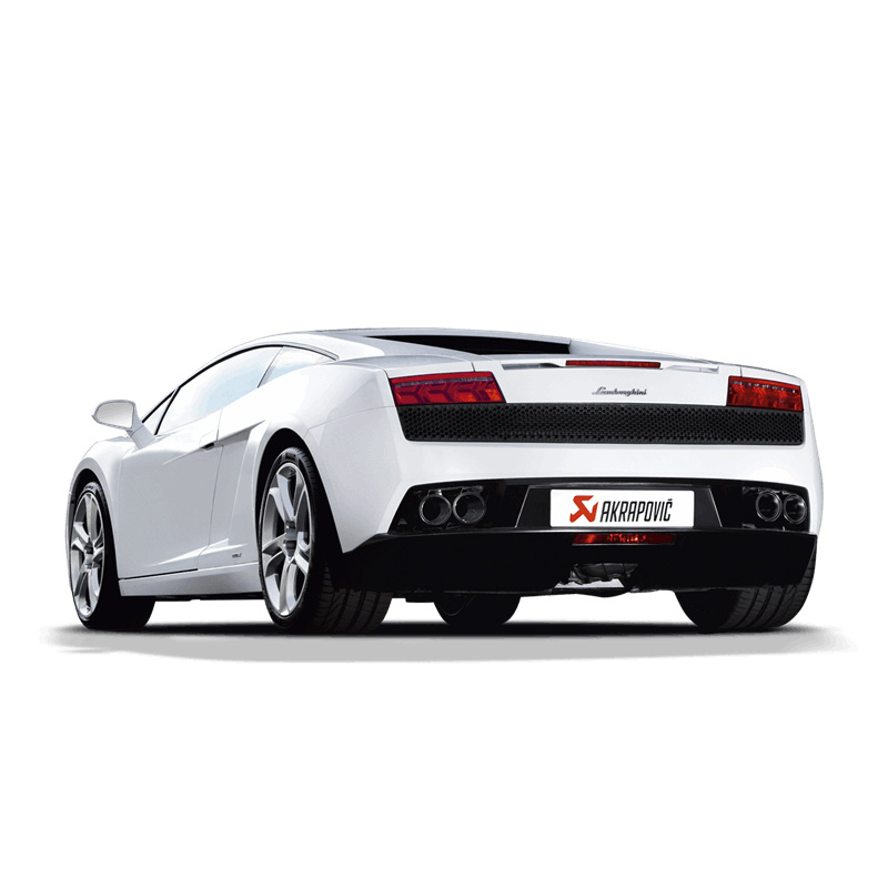Akrapovic Slip On Exhaust - Lamborghini Gallardo 550/560/570