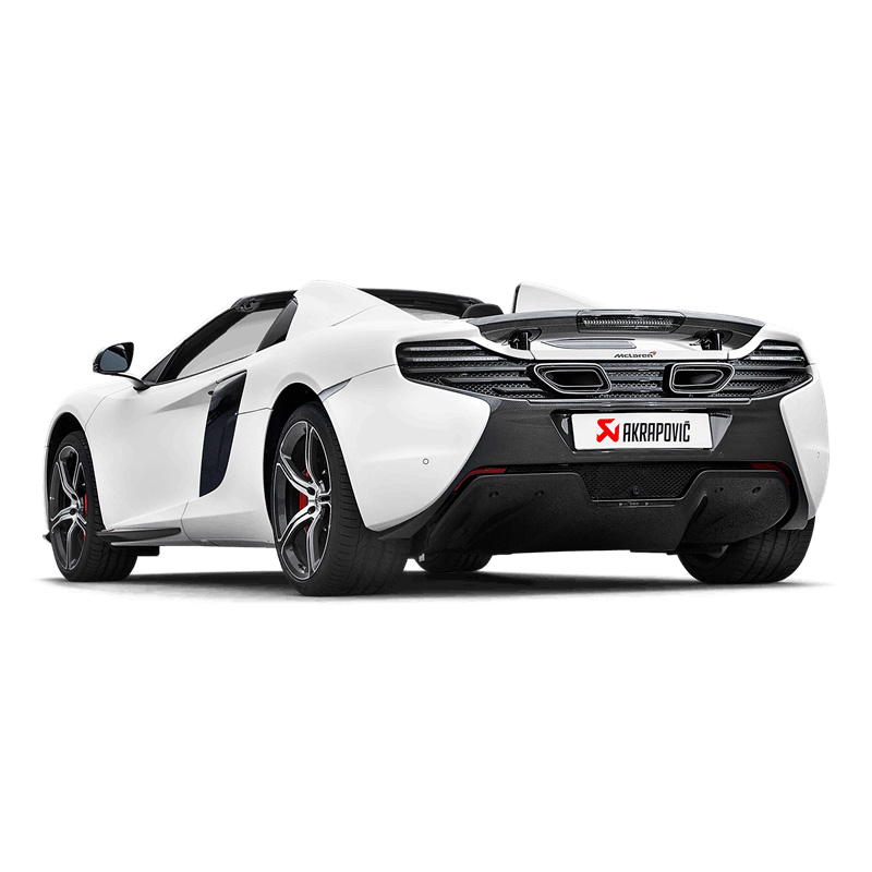 Akrapovic Slip On Exhaust - McLaren 650s / 650s Spider