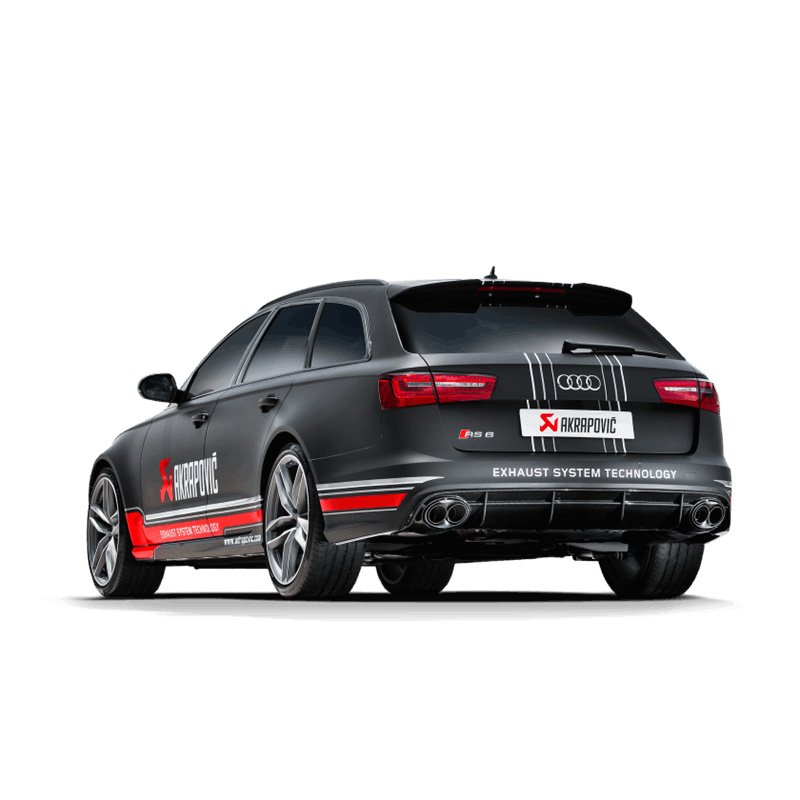 Akrapovic Exhaust Audi RS6 Avant (C7)
