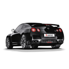 Akrapovic Evolution Exhaust System - Nissan GTR R35