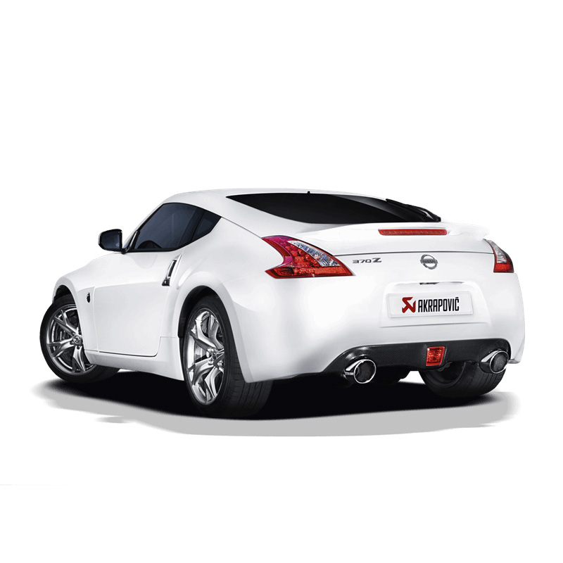 Akrapovic Slip-on Exhaust - Nissan 370Z