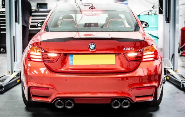 BMW M4 Remus Exhaust