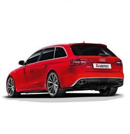 Audi RS4 Avant (B8) Akrapovic Evolution Line (Titanium)