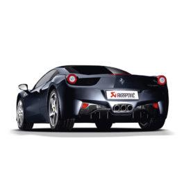 Ferrari 458 Akrapovic