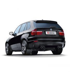Akrapovic Evolution Exhaust - BMW X5 M E70