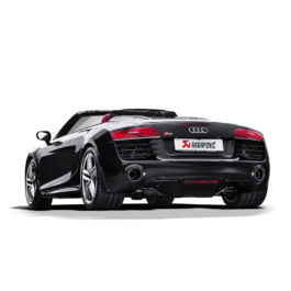 Audi R8 5.2 FSI Akrapovic Slip-on Exhaust
