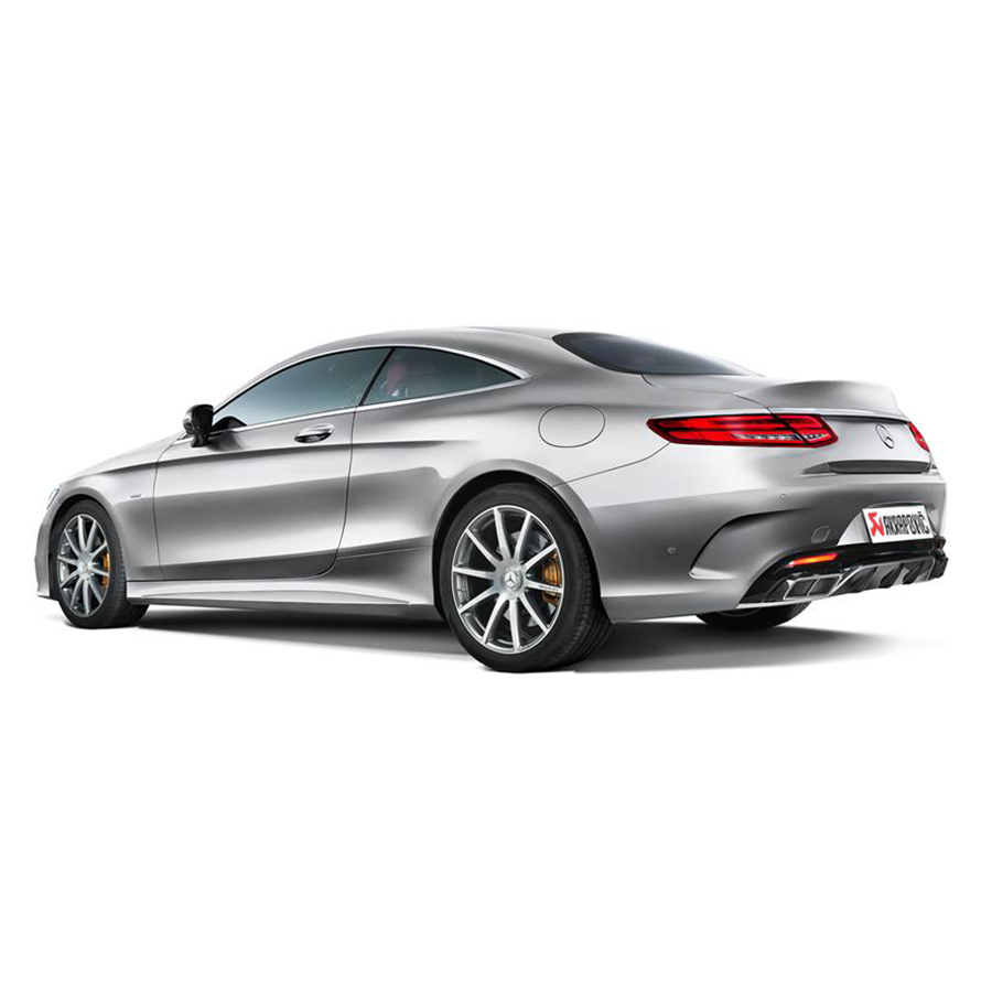 Akrapovic evolution line mercedes benz s63 amg clp tuning for Mercedes benz product line