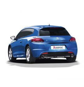 Akrapovic Slip-on Exhaust - Volkswagen Scirocco R