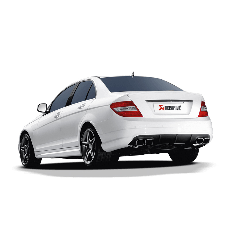 akrapovic evolution exhaust mercedes c63 amg w204. Black Bedroom Furniture Sets. Home Design Ideas