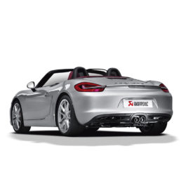 Akrapovic Slip-on Exhaust - Porsche Boxster/S/GTS (981)