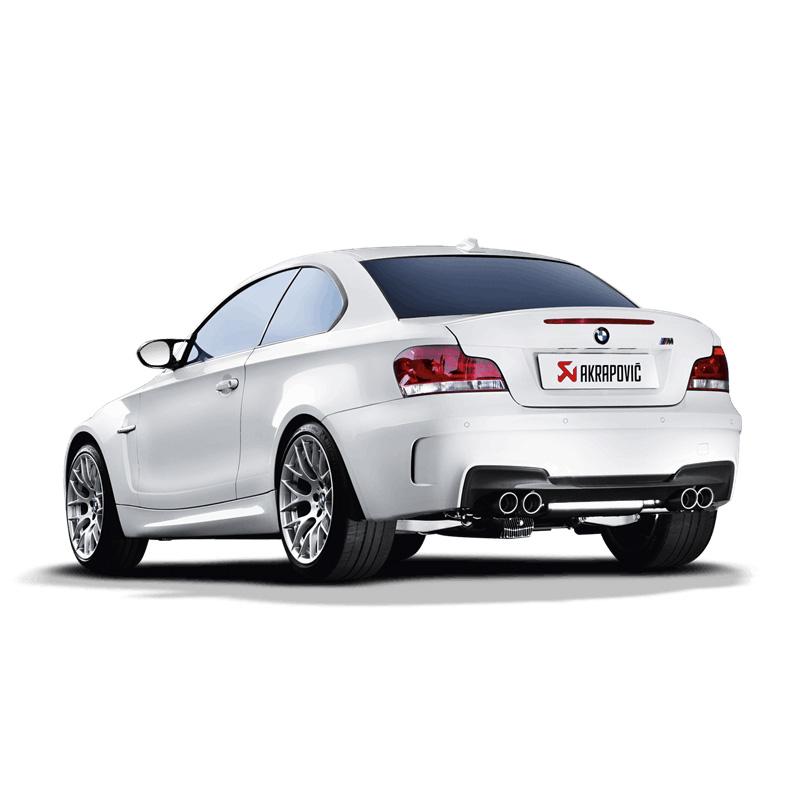 BMW M1 Akrapovic Slip-on