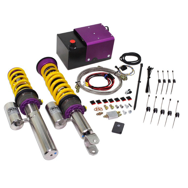 Nissan GTR hydraulic coilovers