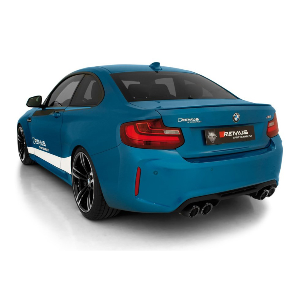 Remus Cat Back Exhaust - BMW M2