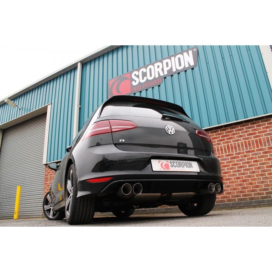 Performance Sport Exhaust For Vw Golf Vii R: Volkswagen Golf MK7 R 2.0TSI