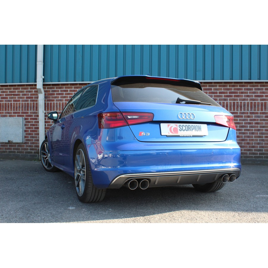 Scorpion Cat Back Exhaust - AUDI S3 (8V)