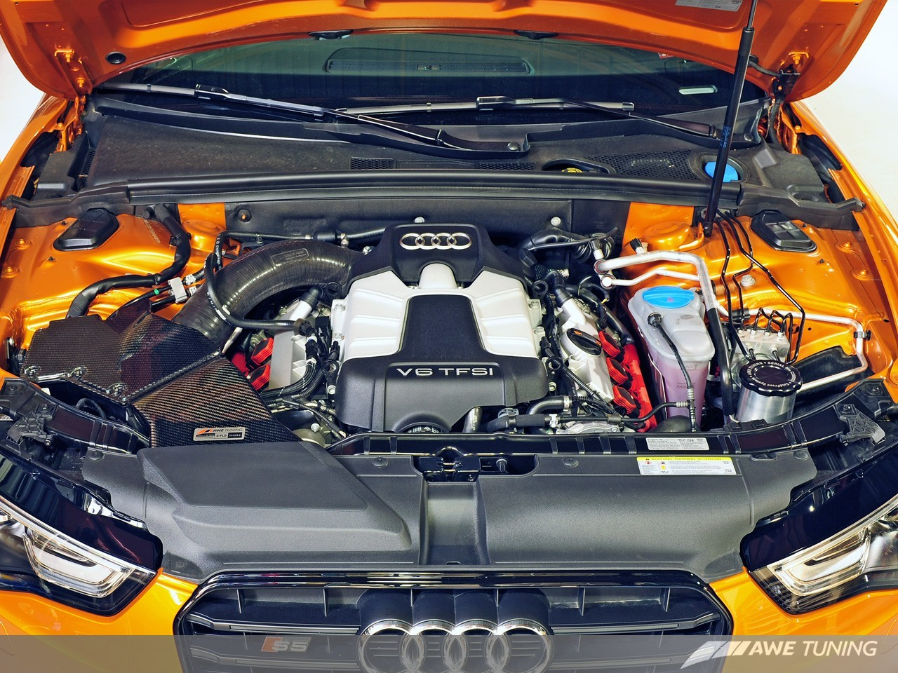 Awe Tuning S Flo Carbon Fibre Intake Kit Audi B8 30t