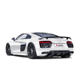 Audi R8 5.2 FSI Akrapovic Slip-on Exhaust 2016 >