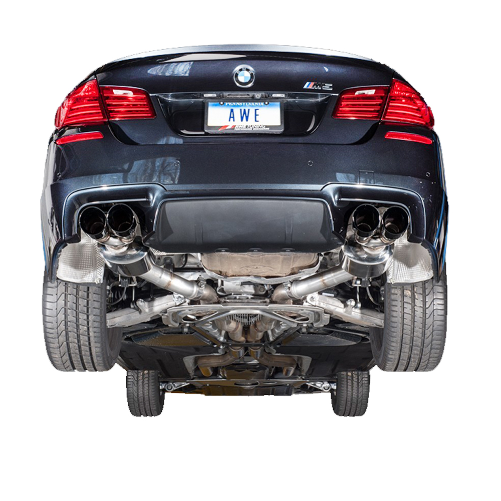 Bmw M5 Sport: AWE Tuning BMW F10 M5 Touring Edition Exhaust