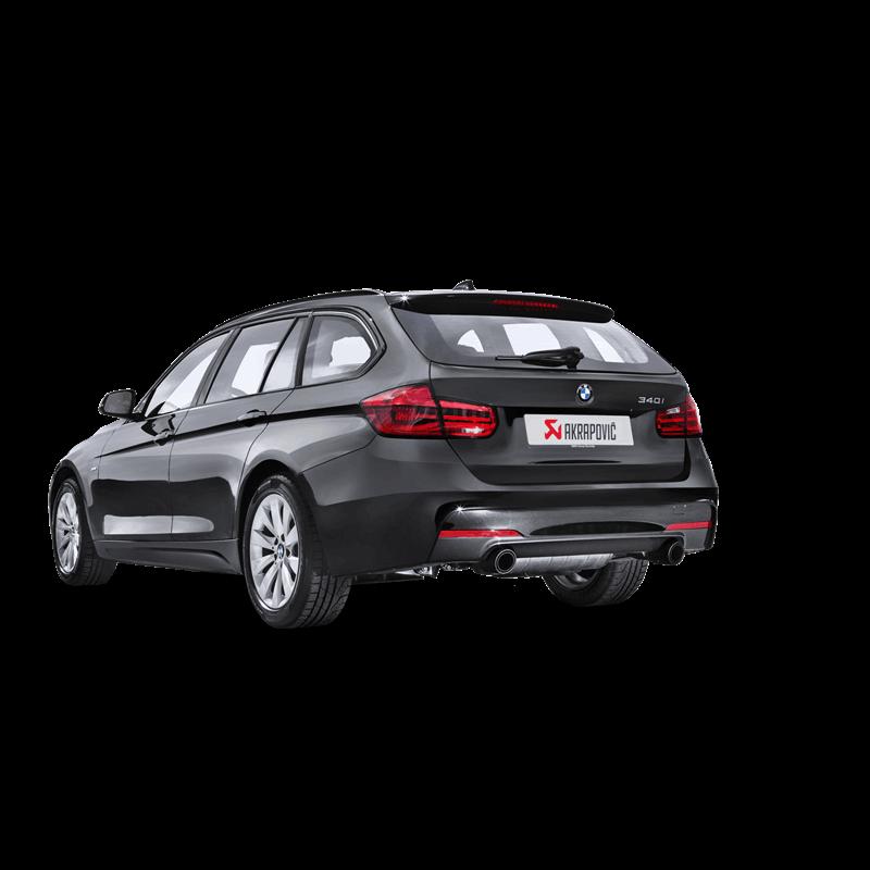 2017 Bmw 340i Xdrive >> Akrapovic Evolution Exhaust System - BMW 340/440i (F3X) - CLP Tuning