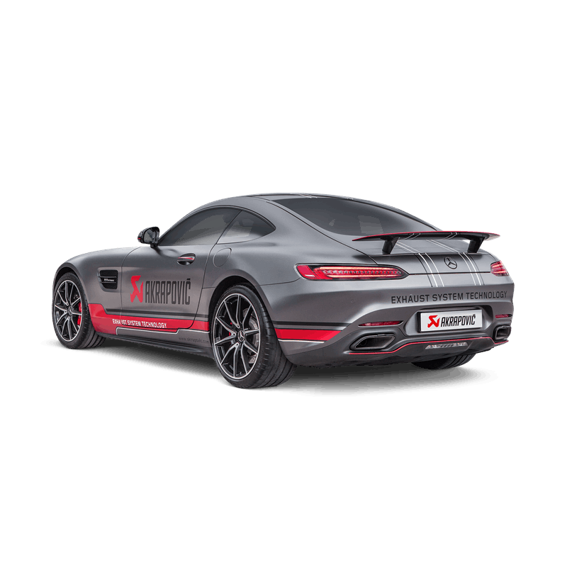 Akrapovic Evolution Exhaust System Mercedes Benz Amg Gt Clp Tuning
