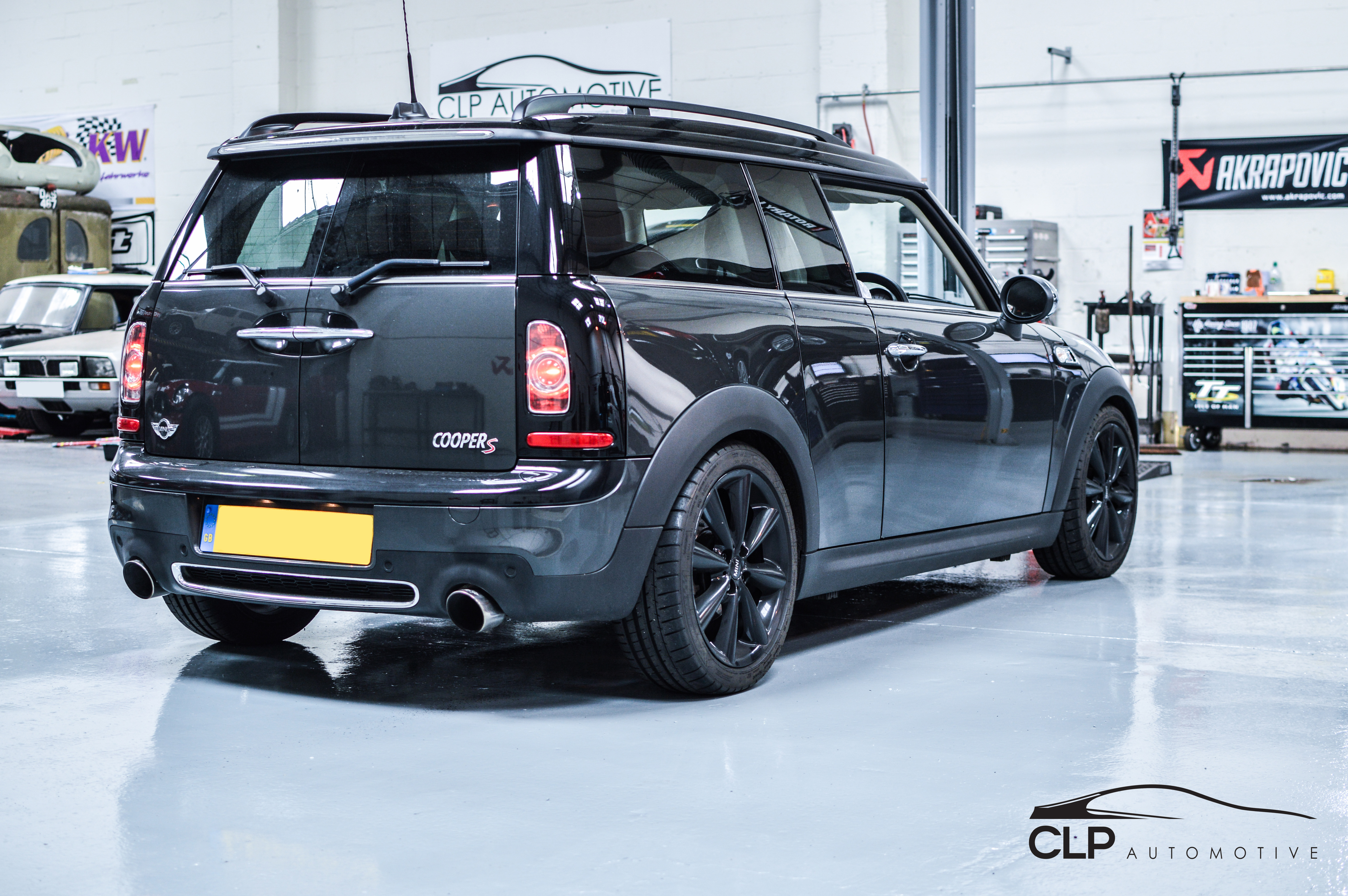 mini clubman cooper s stage 2 conversion clp tuning. Black Bedroom Furniture Sets. Home Design Ideas