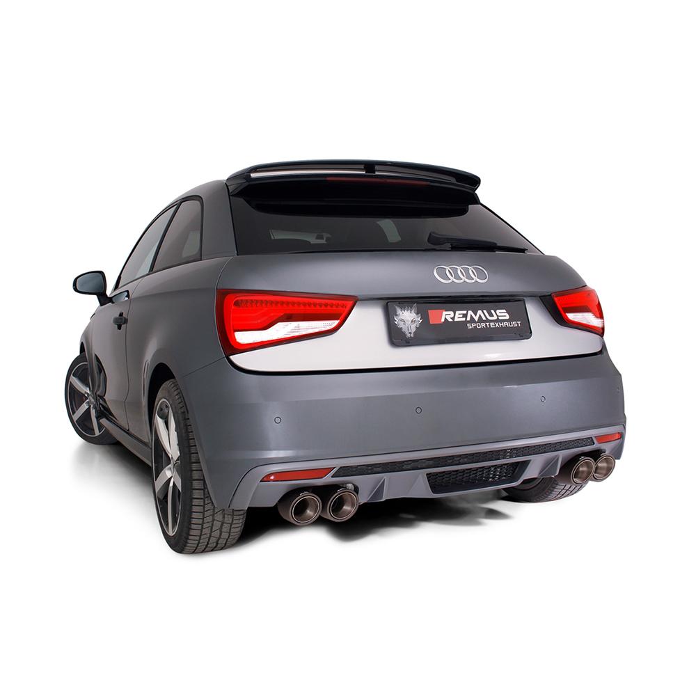 Remus Cat Back Exhaust - Audi S1
