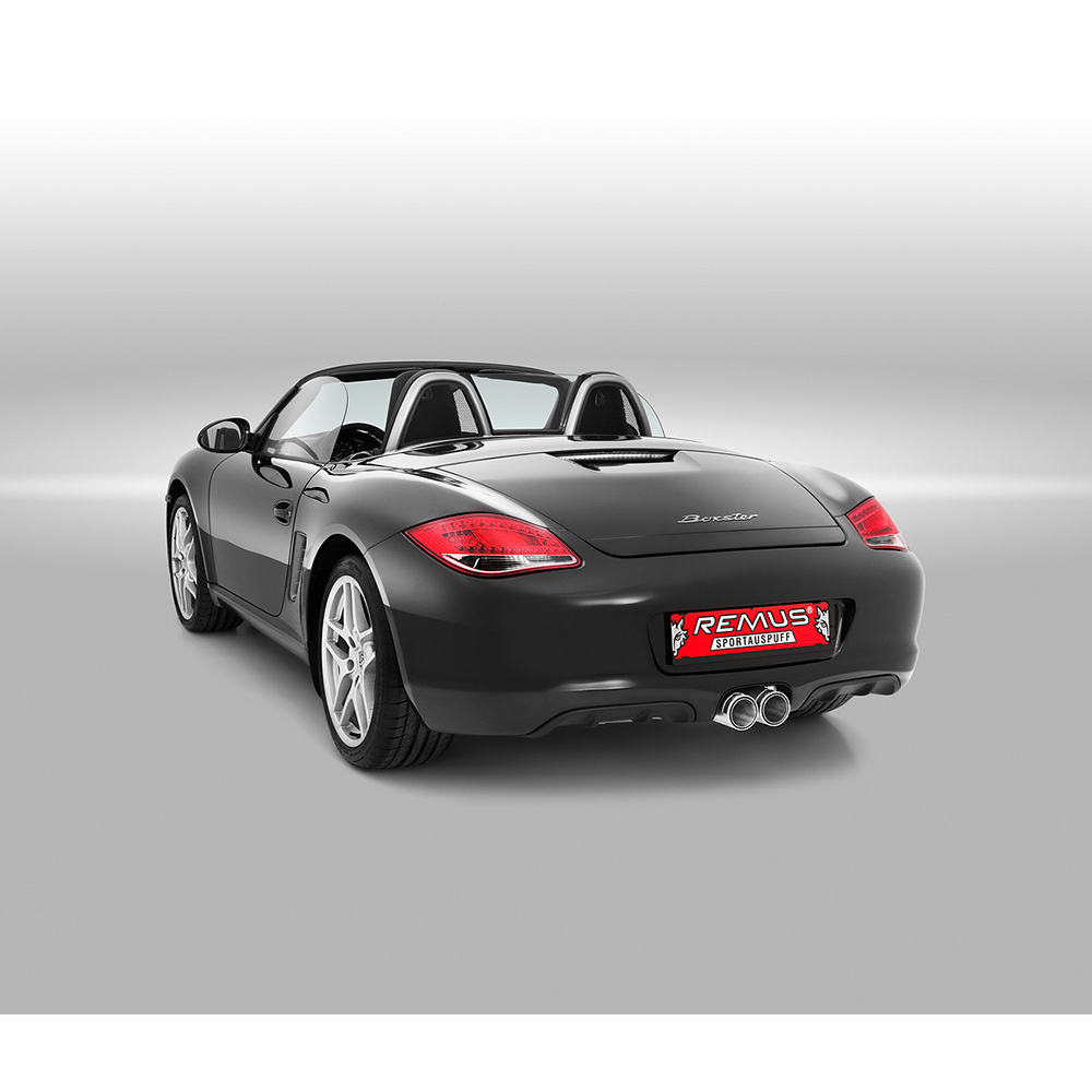 Remus Exhaust System - Porsche Boxster/Cayman (987) 2009+