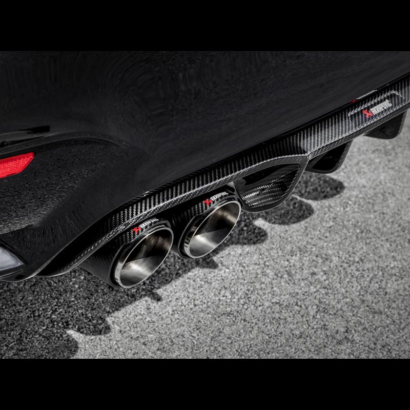 Akrapovic Carbon Fibre Rear Diffuser Bmw M3m4 F8x Clp Tuning
