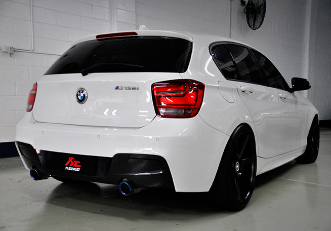 fi exhaust system bmw m135i clp tuning. Black Bedroom Furniture Sets. Home Design Ideas