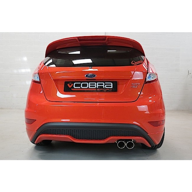 Fiesta St 0 60 >> Cobra Cat Back Exhaust System - Ford Fiesta ST - CLP Tuning