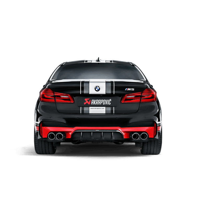 akrapovic evolution exhaust system bmw m5 f90 clp tuning. Black Bedroom Furniture Sets. Home Design Ideas