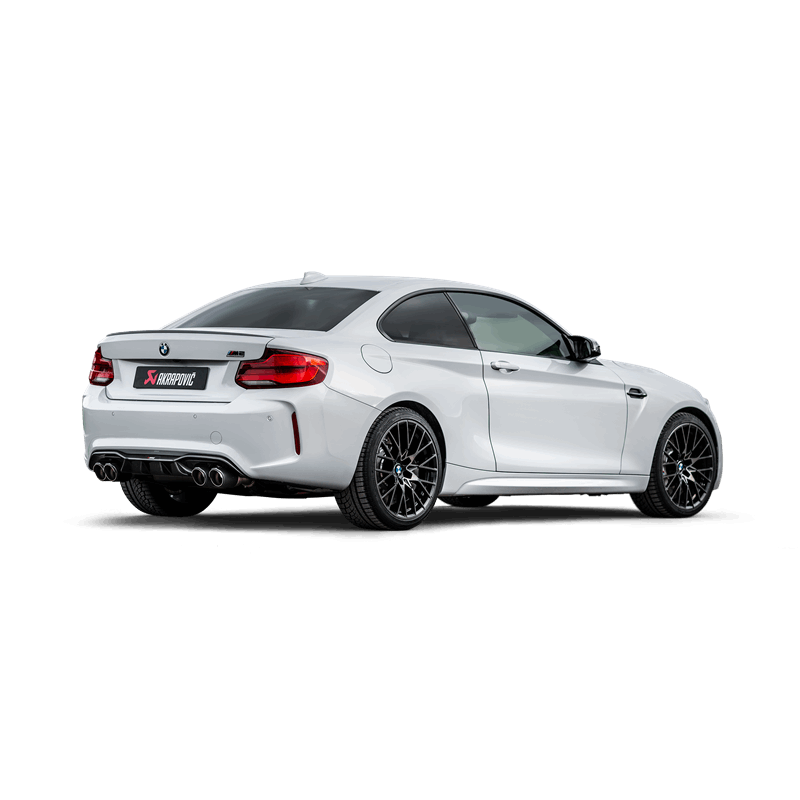 akrapovic slip on system bmw m2 competition clp tuning. Black Bedroom Furniture Sets. Home Design Ideas
