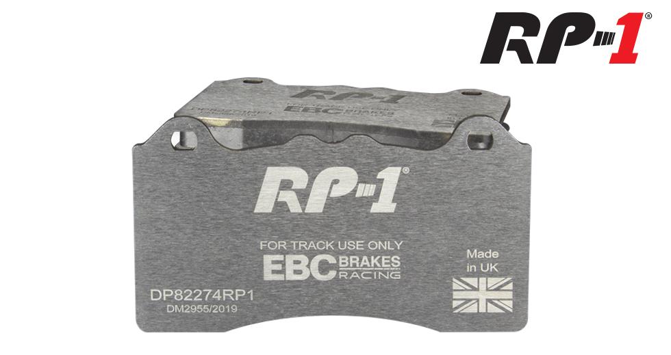 EBC RP-1 Racing Front Brake Pads - Audi TTRS 8S/RS3 8V